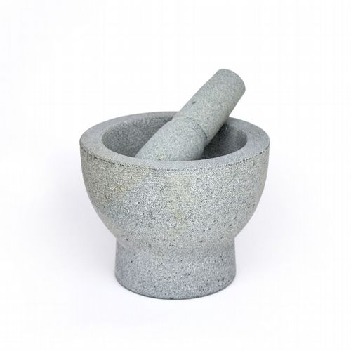 Pestle & Mortar -  Granite - Double Sided - 17cm